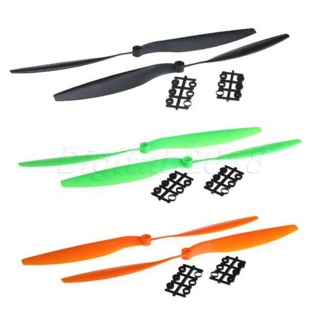 3 Colors 12x4.5 12x4.5R 1245 1245R Slow Fly Prop Propeller for Quad Helicopter