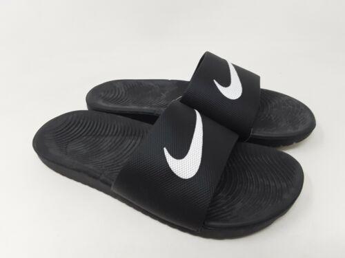 Kid/'s Youth Nike 819352-001 Kawa Slide Sandals Black G29 New