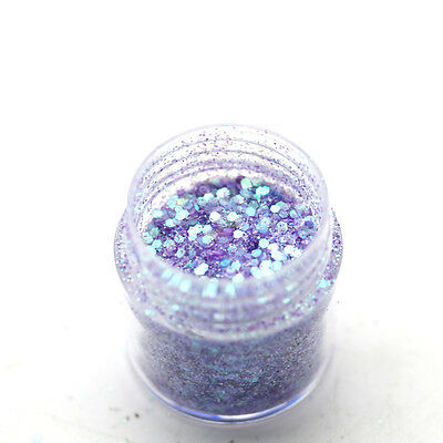 10ml DIY Nail Art Glitter Powder Dust For UV GEL Acrylic Sequins Decoration Tips