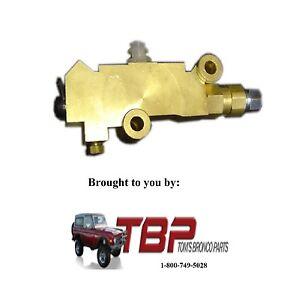 Proportioning-Combination-Brake-Valve-1976-1986-Ford-F150-F250-F350-amp-Bronco