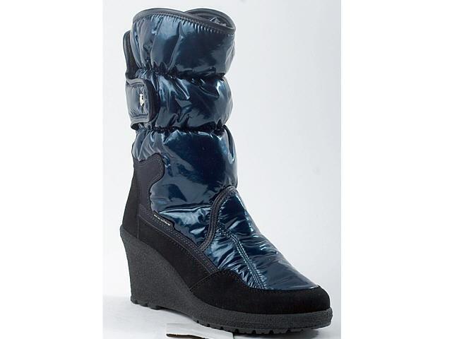 Manitu Stiefel Stiefeletten Winter Damenschuhe blau 36-42 990330 Neu16