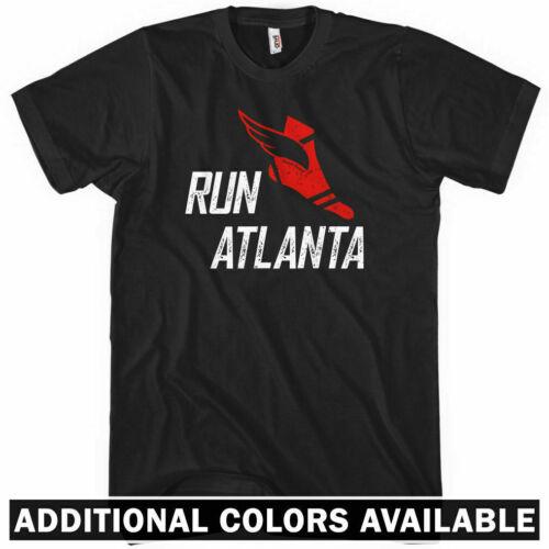 RUN ATLANTA V3 T-shirt Georgia 404 ATL Running Track Falcons Braves XS-4XL