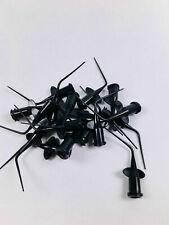 2000pcs Dental Disposable Syringe Endodontic Root Canal Irrigation Tips Black