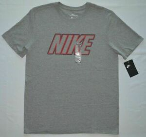 Men-039-s-Nike-The-Nike-Tee-Athletic-Cut-Cotton-T-Shirt-100-Authentic-Size-Medium