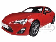 2013 TOYOTA GT 86 LEFT HAND DRIVE LIGHTNING RED 1/18 BY CENTURY DRAGON 1002 B