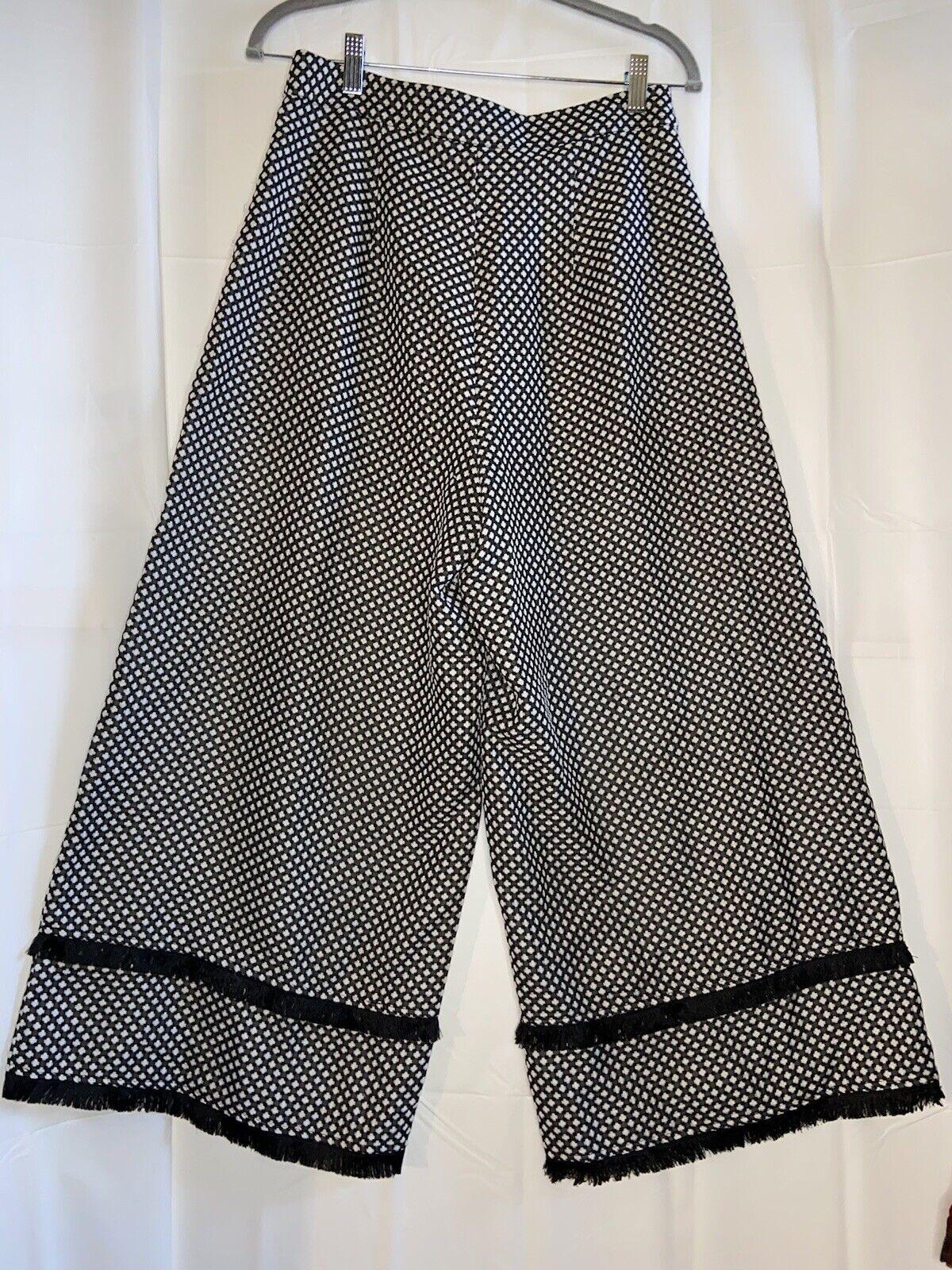 Finders Womens High Waist Wide Leg Crop Gaucho Pa… - image 5
