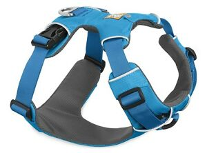 Ruffwear Front Range Dog Harness 30501/407 Blue Dusk Updated 2017 model NEW