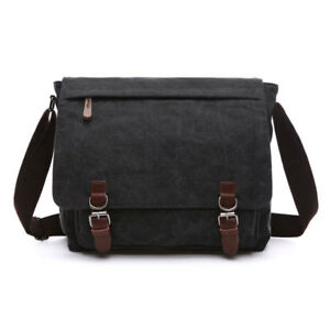 b9129924b6 Canvas Crossbody Men s Military Army Vintage Messenger Bags Postman ...