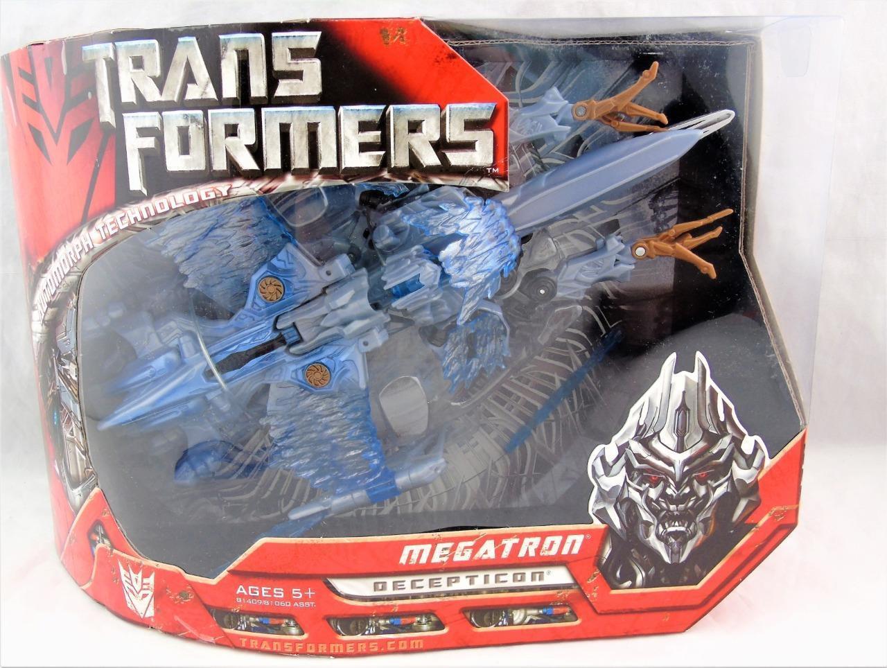 Transformers 2007 Movie Voyager Class First Strike Megatron  MISB