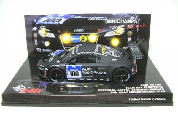 Audi R8 Lms No. 100 24h ADAC Nürburgring 2010