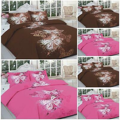 FITTED VALENCE SHEET IN ALL SIZES DUVET COVER WITH PILLOW CASES