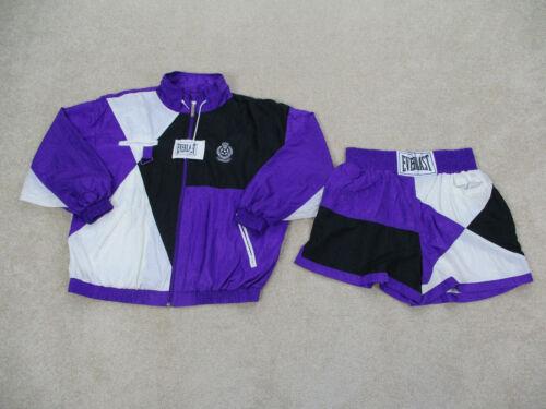 VINTAGE Everlast Jacket Adult Extra Large Purple B