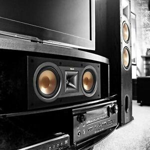 BRAND NEW Klipsch Reference R-25C Center Channel Home Speaker Black BRAND NEW
