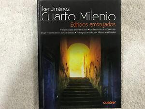 CUARTO MILENIO SOLO EL LIBRO IKER JIMENEZ EDIFICIOS EMBRUJADOS | eBay