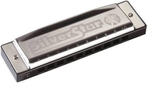 RICHTER Hohner M50410X 504//20 A SILVER STAR