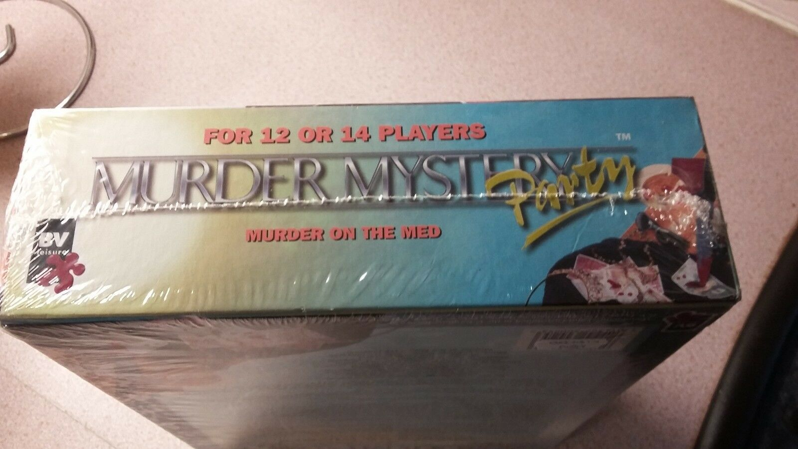 Brand Brand Brand New Factory Sealed Murder on the Med murder mystery party 12 or 14 players c04106