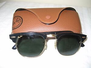 4bd22c3f883 VINTAGE AUTHENTIC BAUSCH   LOMB RAY BAN W0365 XWAS SUNGLASSES MADE ...