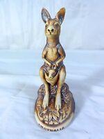 Swagman Pottery -  Vintage Kangaroo Figurine - Made In Australia