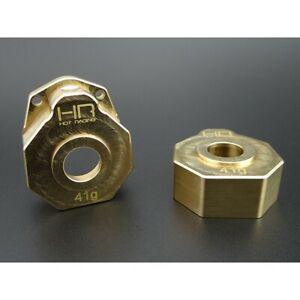 NEW-Hot-Racing-Brass-Heavy-Metal-Knuckle-portal-Cover-TRX-4-FREE-US-SHIP