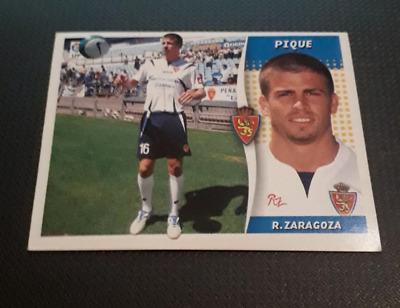 Panini Este sticker Pique Piqué Real Zaragoza 2006 2007 ultimos fichages #25