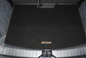 nissan micra k14 2017 on orange boot liner trunk mat. Black Bedroom Furniture Sets. Home Design Ideas