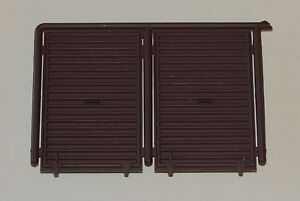 Pacific Rail Shops ~ PRS S scale 2 x Youngstown Boxcar Doors ( 10' Height )