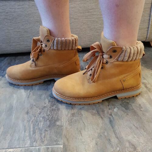 Walking Boots Trainers Hiking Rambling Faux Nubuck Womens Ladies Size New UK
