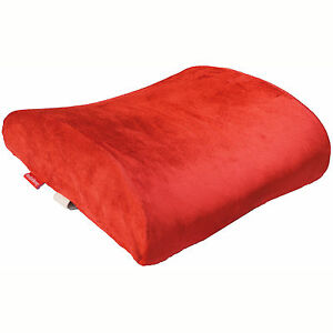 memory foam lumbar cushion back support travel pillow car