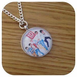 One-direction-BOY-1D-band-round-e-necklace