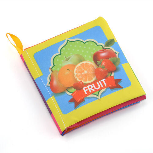 Intelligence Development Soft Cloth Book Educational Cognize Toy for Kids Baby