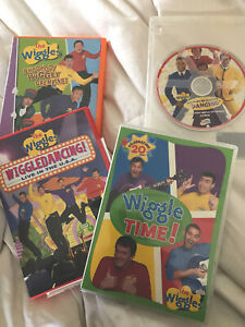 The Wiggles Dvd Lot 4 45986310279 Ebay