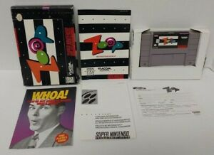 Zoop-SNES-Super-Nintendo-AUTHENTIC-Tested-Working-Game-Complete-w-Box
