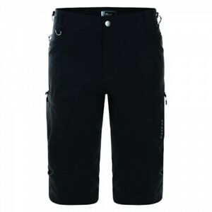 Dare2B-Tuned-In-Mens-Adjustable-Shockcord-3-4-Length-Shorts-Black