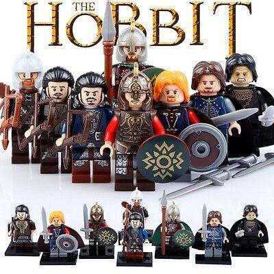 Minifiguras El hobbit el Señor de los Anillos, Lord of the rings Tolkien figures