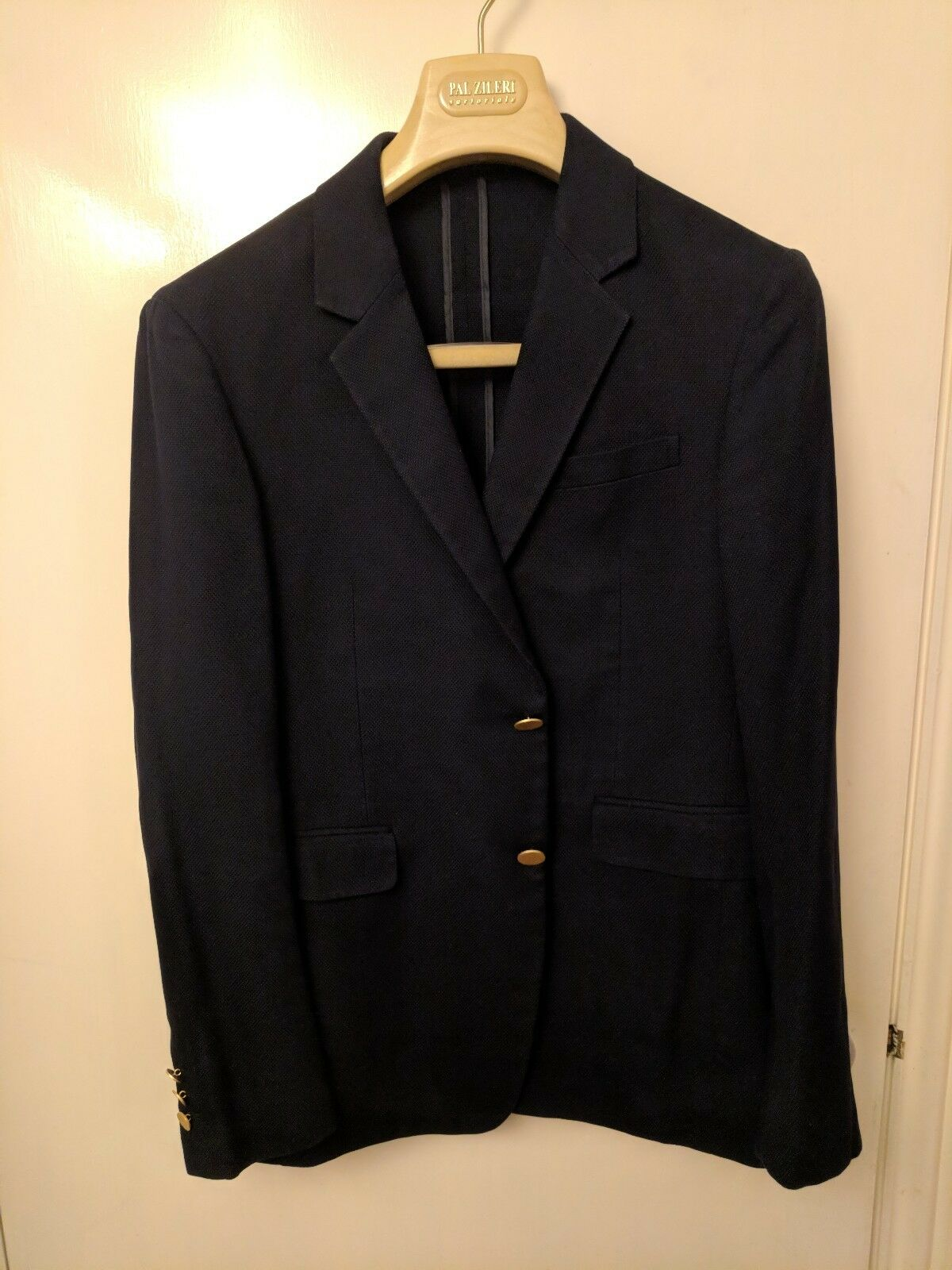 Prada Deconstructed Single-Breasted Cotton Jacket. Größe 48 (UK 38)