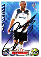 Bolton Wanderers F.C Gary Cahill Hand Signed 08/09 Championship Match Attax.