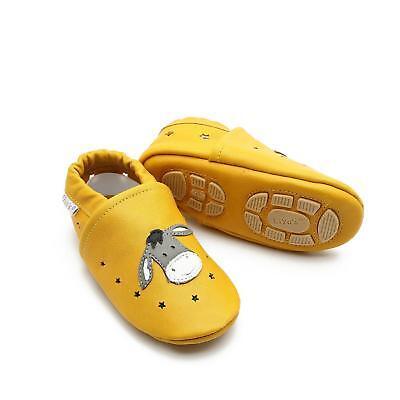 Modesto Pantofole's Baby Scarpe Pantofole Liya - #699 Estate Magari Asino In Mais Giallo-