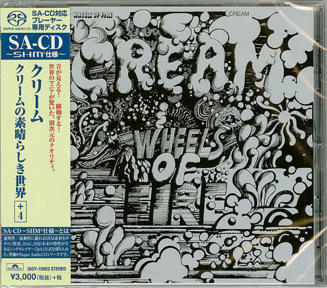 CREAM-WHEELS OF FIRE-JAPAN SHM-SACD BONUS TRACK G88