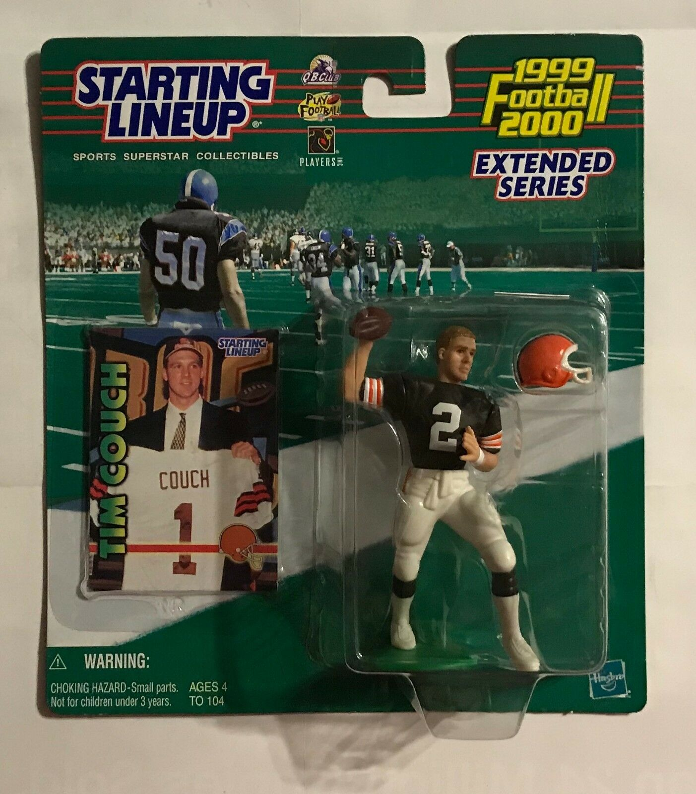 1999 2000 STARTING LINEUP - TIM COUCH - ACTION FIGURE