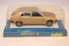 Solido 1309 Renault 14 bronze 1: 43 mint in box superb 8e