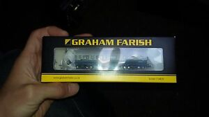 N-Gauge-Graham-Farish-374-877-LMS-50ft-Inspection-Saloon-Blue-Grey-coach