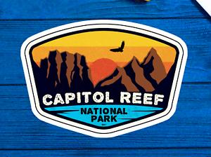 "Capitol Reef National Park Utah Sticker 3.75"" x 2.75"" Vinyl Decal"