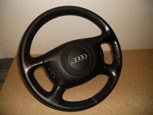 Audi-A8-4D-4D2-LENKRAD-LEDER-LEDERLENKRAD-MFL-MULTIFUNKTIONSLENKRSRAD