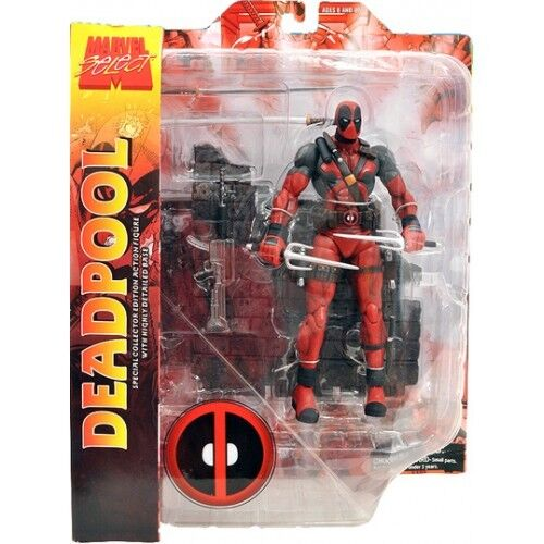 BRAND NEW Marvel Diamond Select Deadpool Merc with a Mouth Superhero Figure MIB