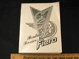 1987-Pontiac-Fiero-Shop-Manual-NOS