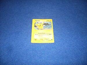 FIGURINA-CARD-POKEMON-84-144-PIKACHU-ITA-ITALIANO-5