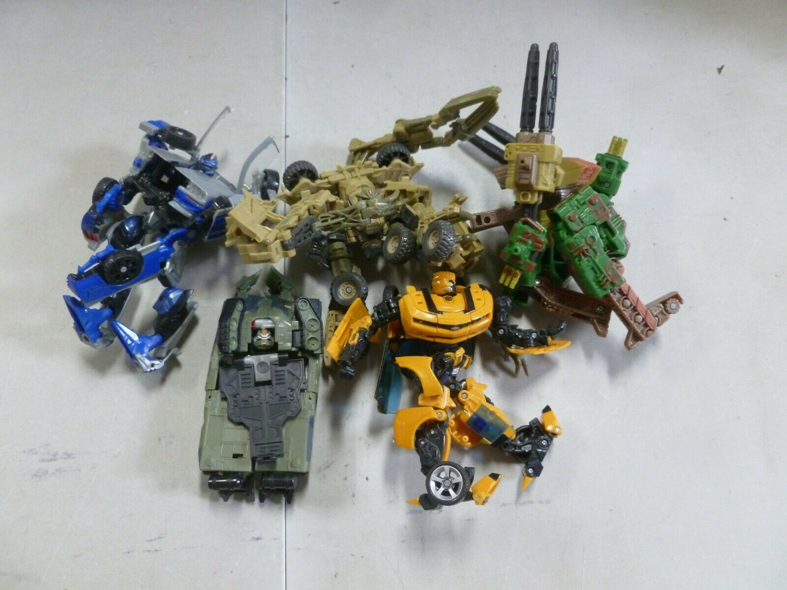 Lot of 5 Assorted Transformers with Bumblebee