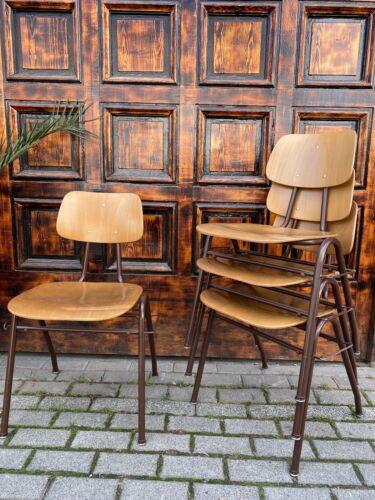 1/13 Stapelstuhl Industriedesign Cafe Bar Loft Fabrik