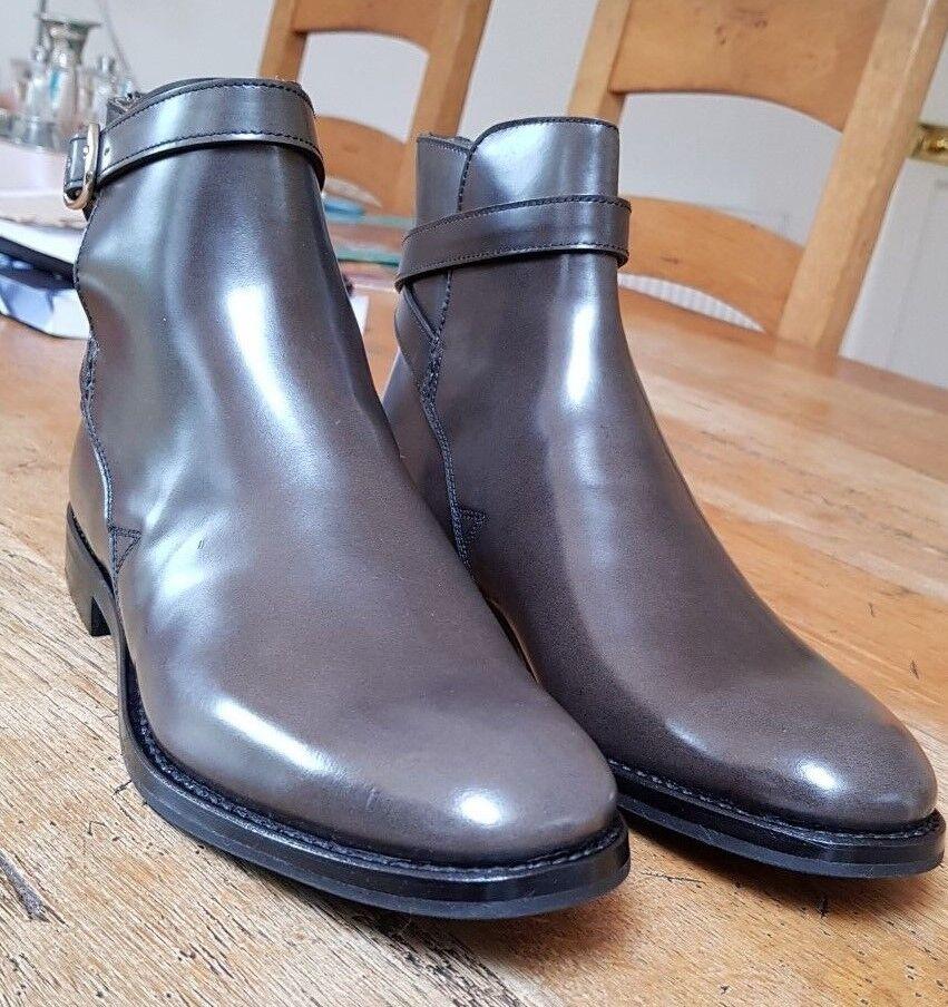 3ef841b5 Church's Merthyr Wohombres gris Leather Ankle botas nowmyu1531-Botas ...