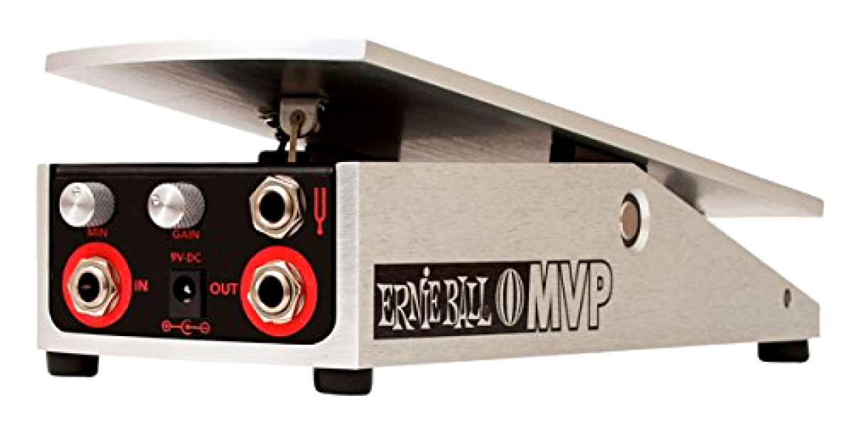 Volume and Overdrive Expression Pedal Minimum Volume Control Gain Boost, New